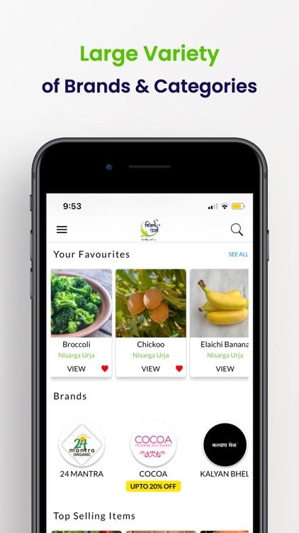 Nisarga Urja - Online Grocery