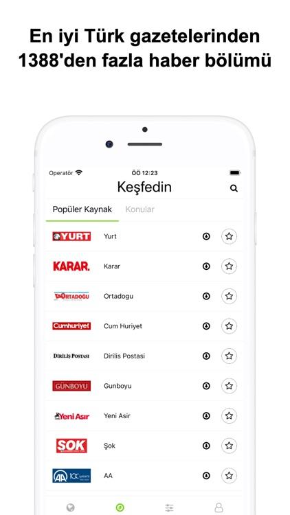 Türkçe Gazeteler - Haberler