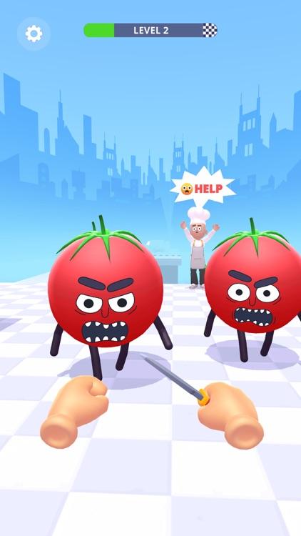 Hit Tomato 3D: Knife Master