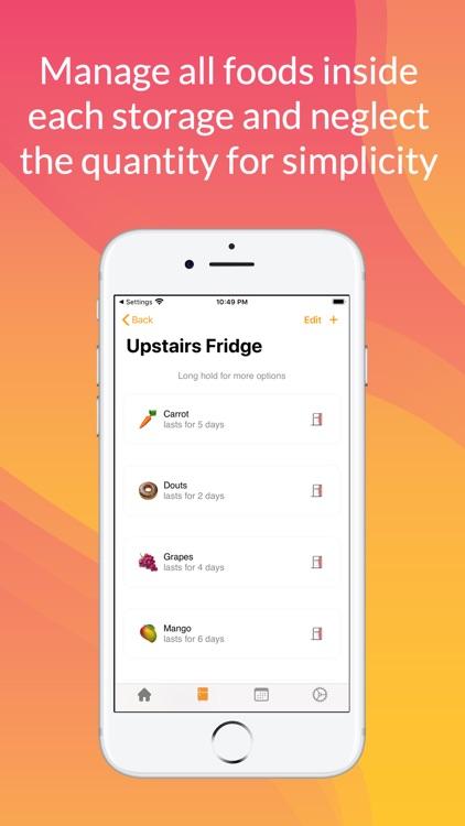 Refrigerator - Kitchen Manager screenshot-3