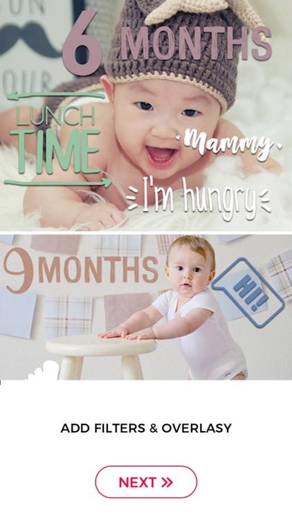 Baby Photo Editor & Baby Story screenshot-5