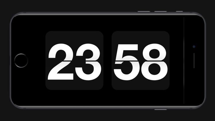 Retro Flip Clock - zen clock
