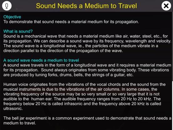 Sound Needs a Medium to Travel screenshot 6