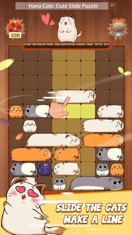 Haru Cats®: Cute Slide Puzzle screenshot-0