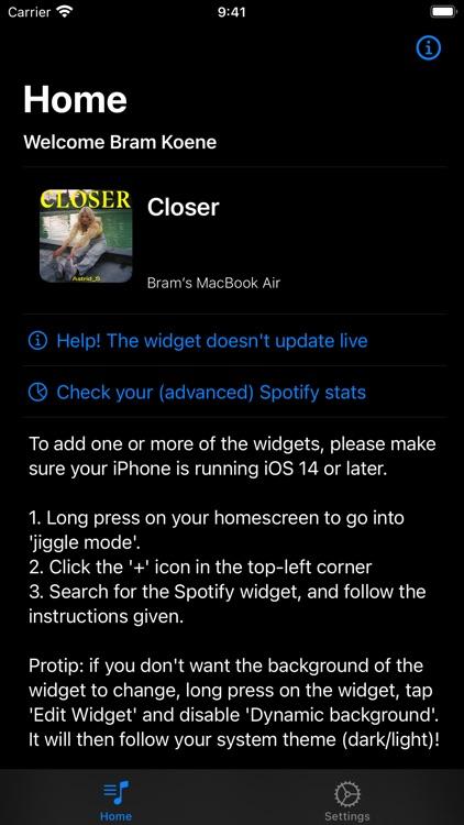 Widget for Spotify screenshot-3