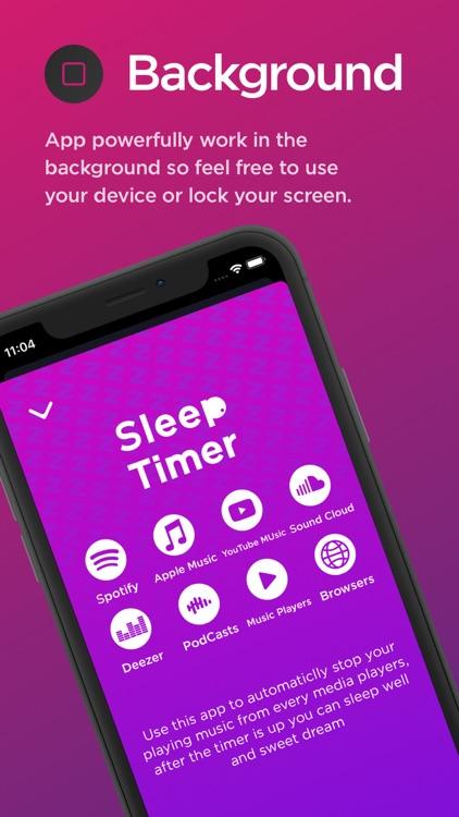 SleepTimer - Music Stopper screenshot-3