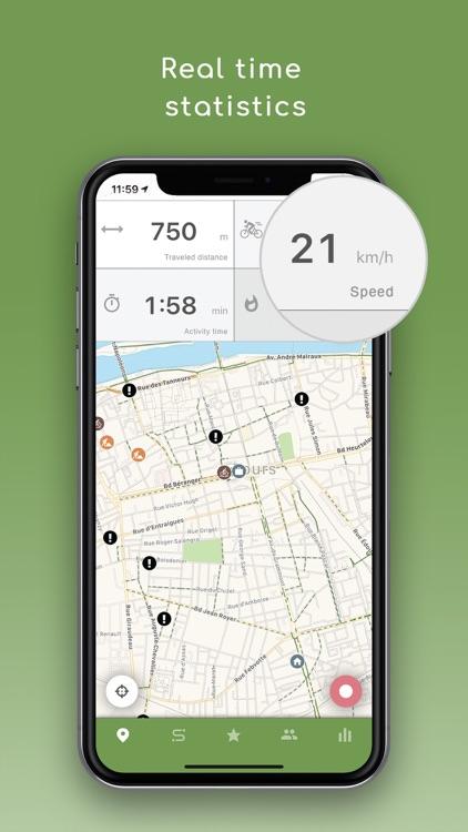 Geovelo : bike GPS screenshot-5