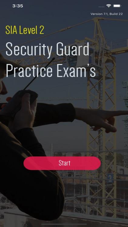SIA Security Guard Exam Test