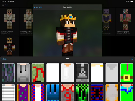 Screenshot #6 pour Skin Creator: Diamond Edition