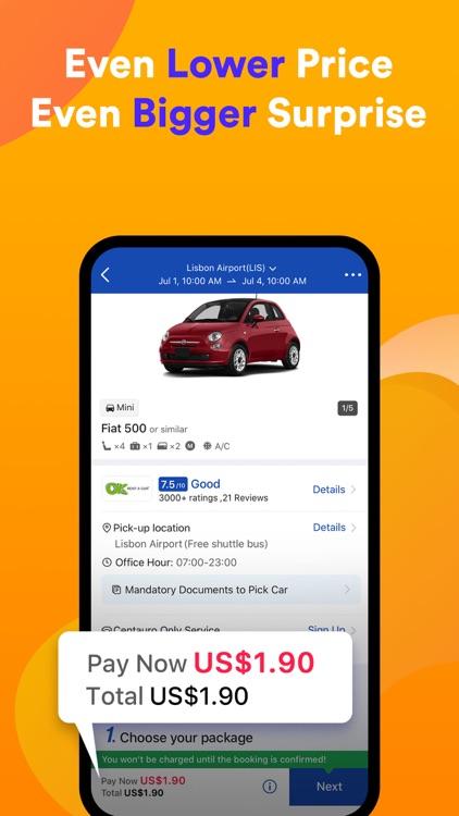 QEEQ Car Rental -  Rental Cars screenshot-4