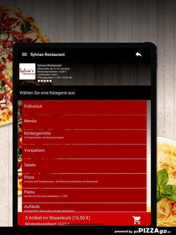 Sylvias Restaurant Sarstedt screenshot 8