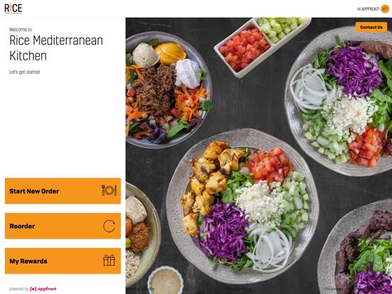 Rice Mediterranean Kitchen App Price Drops