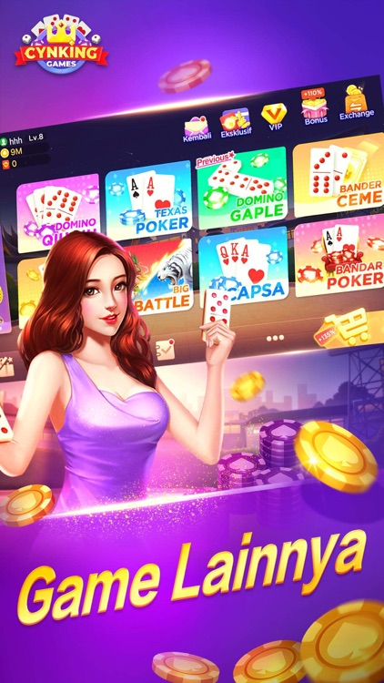 Gaple Domino Poker Online By Cynking Technology Co Limited