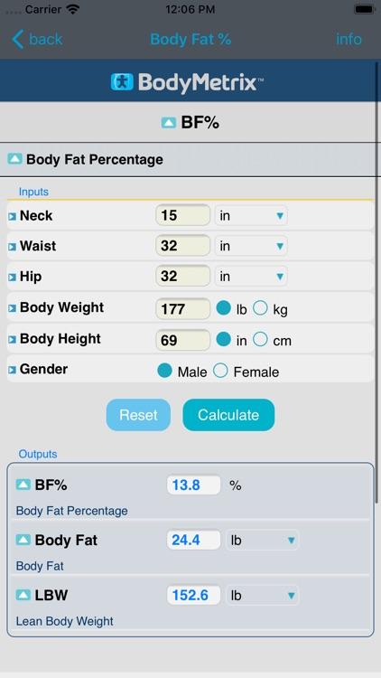 BMIcalx™ screenshot-4