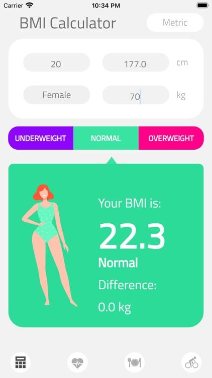 BMI Calculator Health screenshot-5