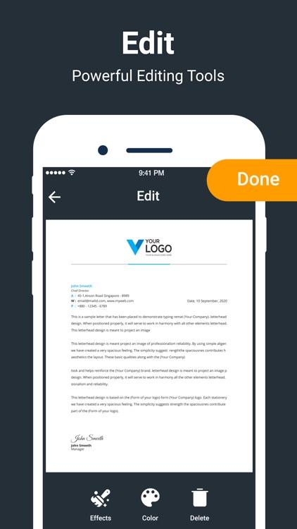 PDF Scanner - Scan PDF screenshot-3