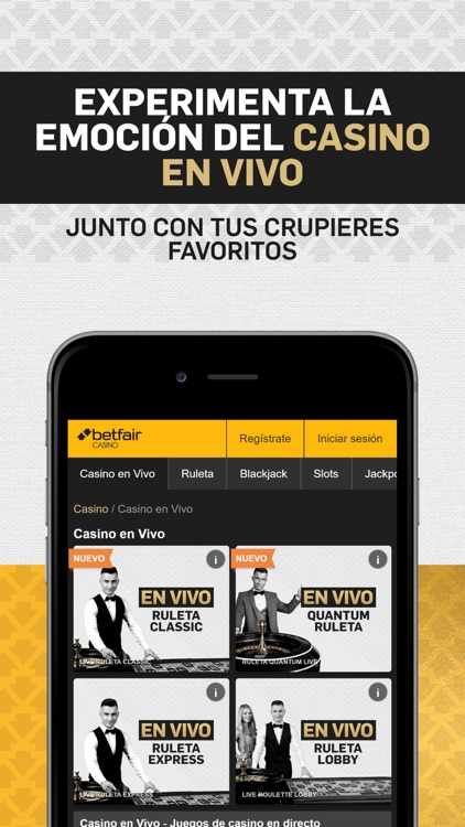 Betfair Casino: Ruleta, Slots… screenshot-3