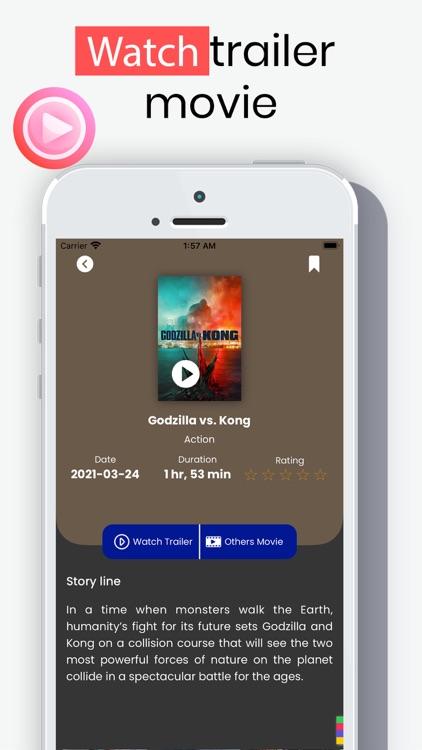 WATCHED - Multimedia Movie App screenshot-3