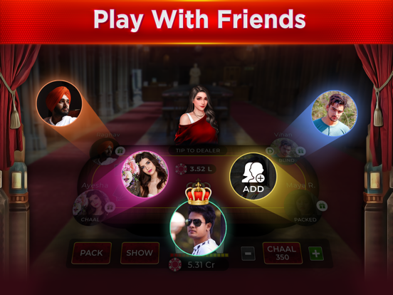 Rtp Royal Teen Patti By Phoenix Mind Games Ios United States Searchman App Data Information