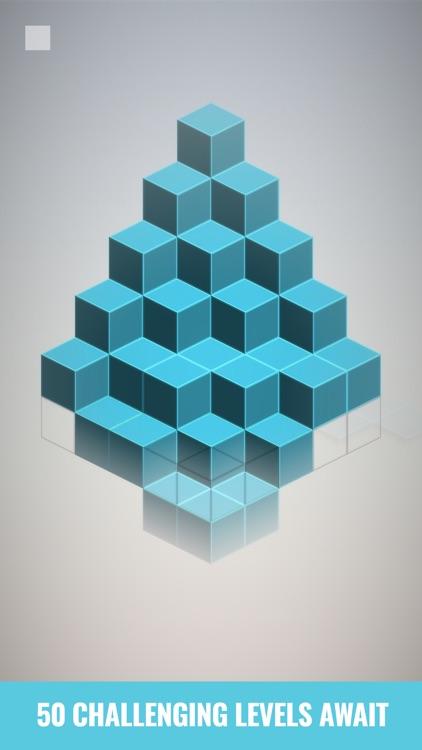 Isometric Squares - puzzle ² screenshot-5