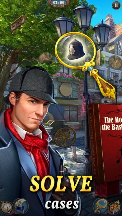 Sherlock: Hidden Match 3 Cases screenshot 1