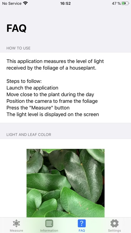 Plant Light Meter screenshot-3
