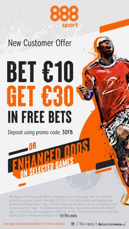 888sport: Live Sports Betting. screenshot-0