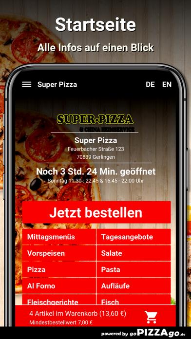 Super Pizza Gerlingen screenshot 2