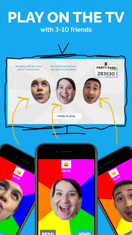 Selfie Games: A TV Party Game