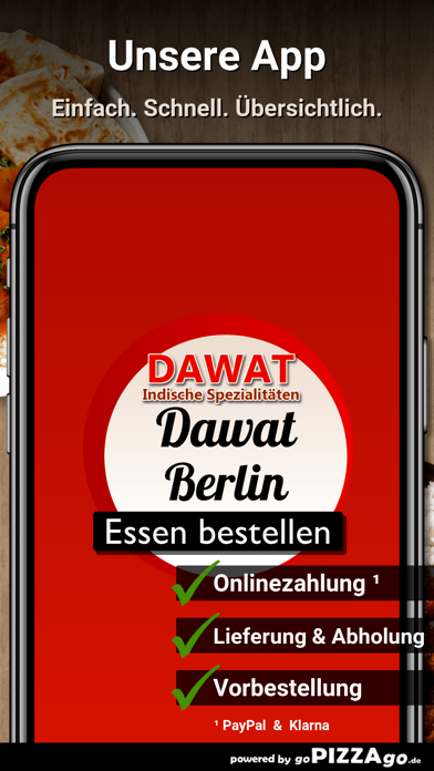 Dawat Berlin Essen screenshot 1