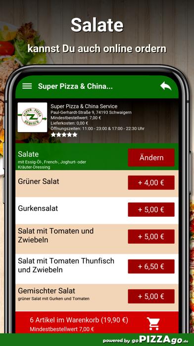 Super Pizza Schwaigern screenshot 5