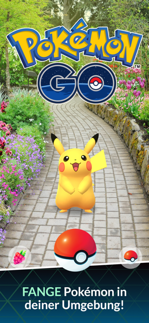 ‎Pokémon GO Screenshot
