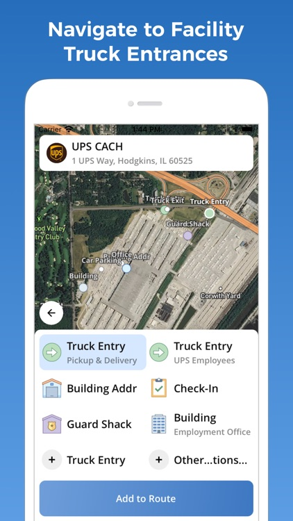TruckMap - Truck GPS Routes