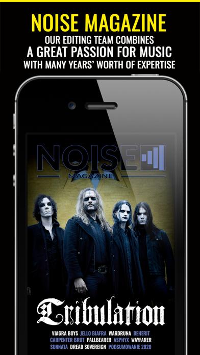 Noise MagazineScreenshot of 4