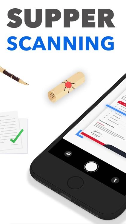 Scanner PDF Document QR Scan screenshot-0