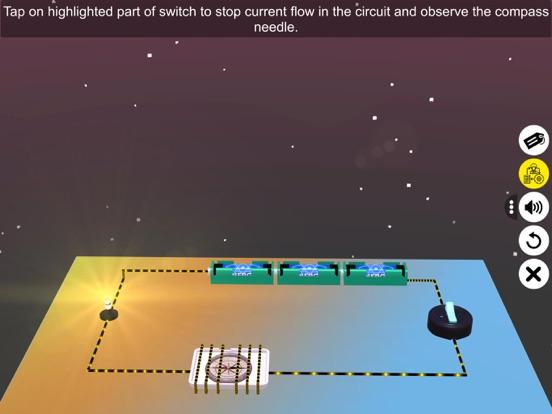 Effect of current on a compass screenshot 15