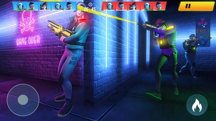 Laser Gun Shooting: Mega War
