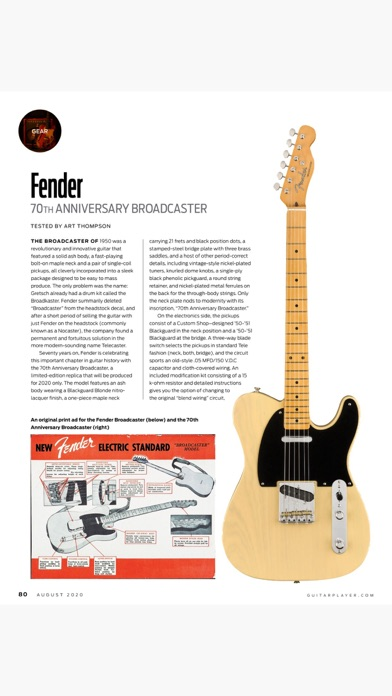Guitar Player Magazine++ Screenshot