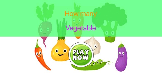 How Many Vegetables