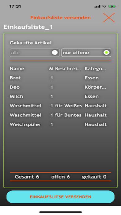 EniShoppingList screenshot 9