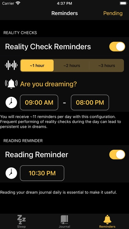 Everdream - Lucid Dream Alarm screenshot-3