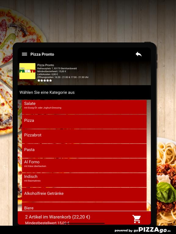 Pizza Pronto Bernhardswald screenshot 8