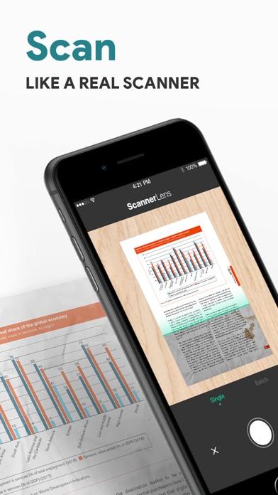 ScannerLens Pro  PDF scannerScreenshot von 1