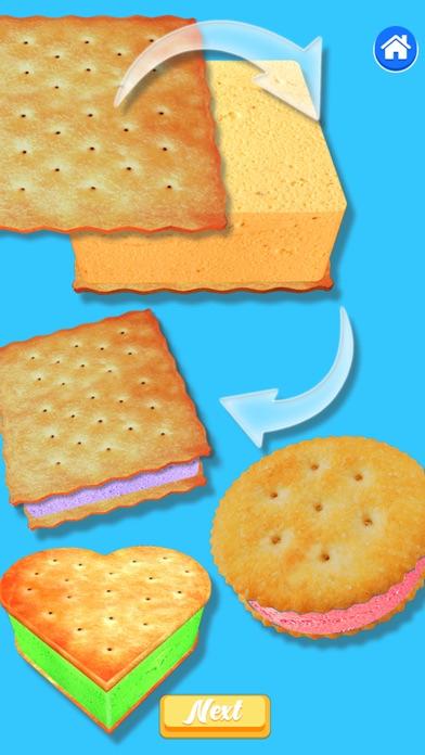Ice Cream Sandwich 3D! Bake It screenshot 4
