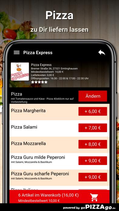 Pizza Express Emtinghausen screenshot 5