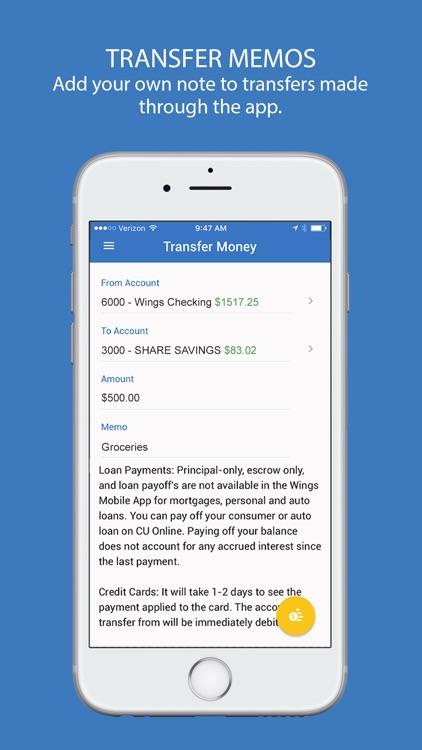 Wings Mobile screenshot-5