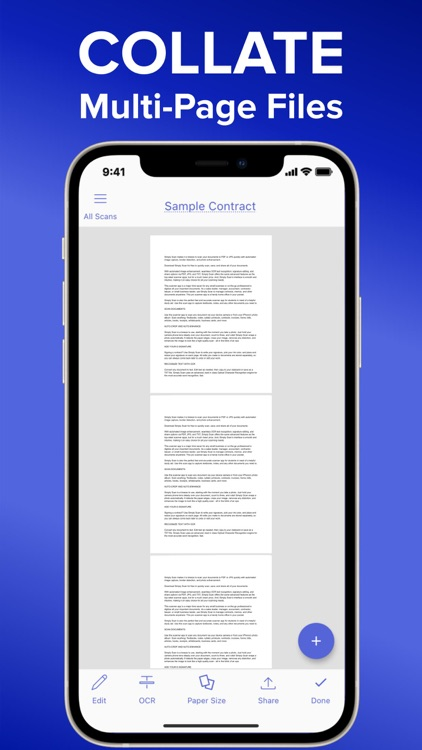 Simply Scan - PDF Scanner OCR screenshot-6