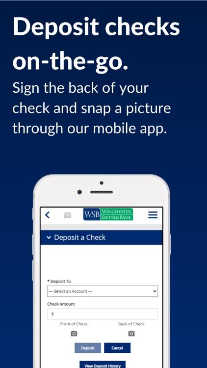 Winchester Savings Bank screenshot-3