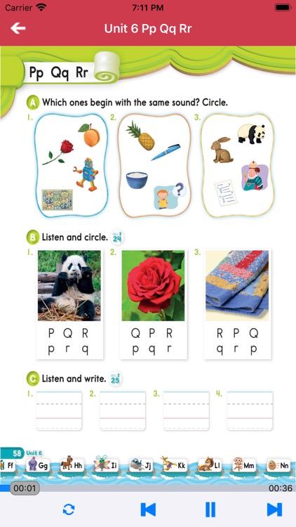 牛津自然拼读世界第1级 -英语启蒙早教课程 screenshot-3