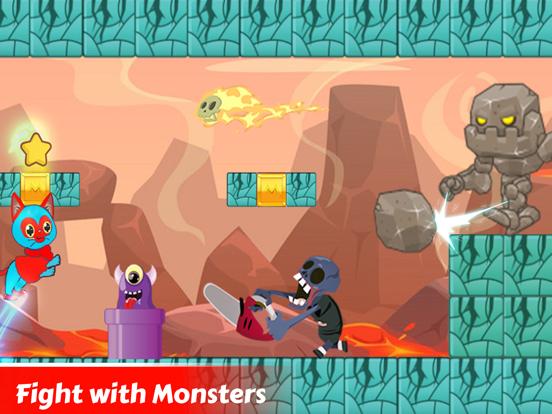Super Hero Cat Adventure Game screenshot 10